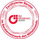 Logo Siegel Beraternetzwerk des Mittelstands